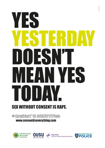 Yes yesterday doesn't mean yes today poster preview